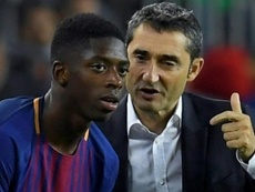Dembele wants to become a key asset to Valverde. EFE