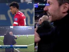 El PSV salvó un punto al final. Captura/FOXSports