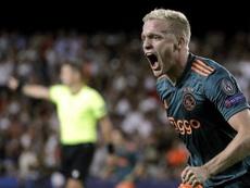L'Ajax se rendra à Lille en train pour 'raisons écologiques'. EFE