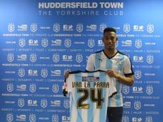 Van La Parra recala en el Huddersfield  Town. HTAFC