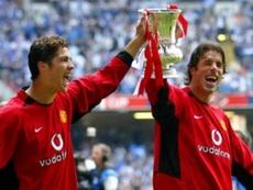 Van Nistelroy e Cristiano tiveram seus maus momentos. AFP