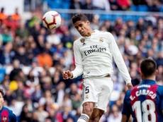 Varane would like to change club. EFE/Archivo