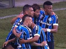 Gremio desespera a Internacional y ya roza el Gaucho. Captura/SporTV