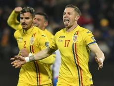 Goleada para Rumanía. Twitter/hai_Romania