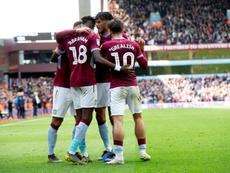 El Aston Villa remonta al WBA para tomar ventaja (2-1). AFP
