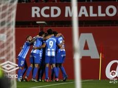 El Málaga venció al Mallorca. LaLiga