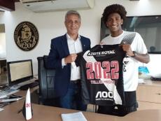 Vasco renova com Tales Magno até 2022. Carlos Gregório Jr/Vasco