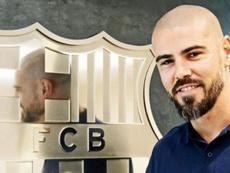Valdés no ha encajado bien como técnico en el Barça. FCBarcelona