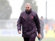 El Barça despide también al segundo de Valdés. FCBMasia
