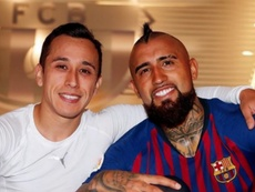 Vidal no olvida sus orígenes. Twitter/kingarturo23 