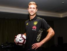 Steinmann ya es jugador del Wellington Phoenix. WellingtonPhoenix