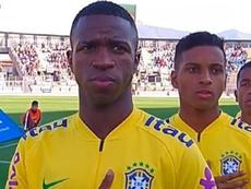 Rodrygo gagne aussi du terrain sur Vinicius au Brésil. RealMadrid