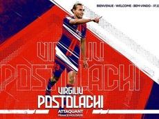 Postolachi jugará la siguiente temporada en el Lille. Twitter/LOSC_ES