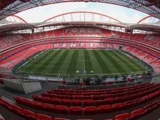 Estadio Da Luz não terá a presença de público. SLBenfica