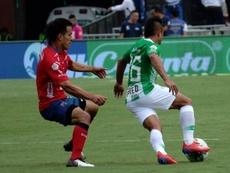 Independiente iguala con golazos el buen juego de Nacional. Twitter/NacionalOficial