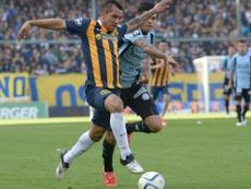 Walter Montoya, protagonista de la jornada en la Copa Libertadores. EFE