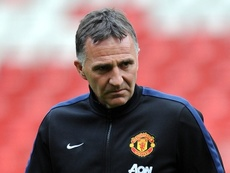 Warren Joyce is the manager of Manchester United U21s. ManUtdFC