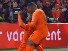Wijnaldum ouvre le score. Capture