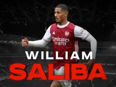 William Saliba ya es del Niza. Captura/Twitter/ogcnice