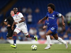Willian was the best performer for Chelsea in the first half. ChelseaFC