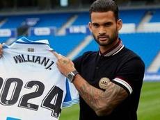 Willian José no se va. Twitter/RealSociedad