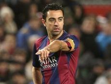 Xavi a évoqué la possibilité d'entraîner le Barça. EFE