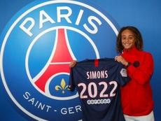 Xavi Simons rejoint le PSG. Twitter/PSG_Inside