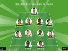 El XI ideal de LaLiga cedido fuera de España. BeSoccer