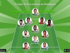 El mejor XI de la semana de Champions, según la UEFA. BeSoccer