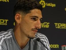 Bodiger declaró estar muy feliz en Cádiz. CadizCF
