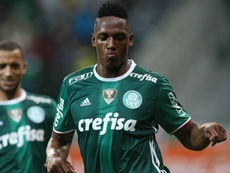 Mina is expected to sign for Barca imminently. EFE/Archivo