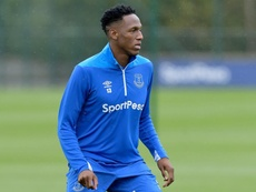 Yerry Mina a pu jouer 90 minutes en match amical. Everton