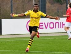 Moukoko pourra jouer en Bundesliga dès la saison prochaine. Twitter/BlackYellow