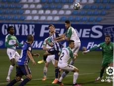 Luca Zidane falló en el 1-1. LaLiga