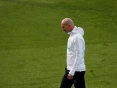 Zidane ya piensa en el nuevo Real Madrid. EFE