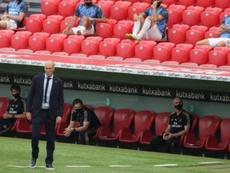 Zidane se refirió a la situación de James. EFE
