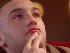 Ziyech rompió a llorar tras un mensaje de su madre. DUGOUT