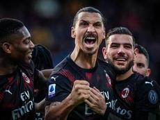Il Milan supera il Cagliari. Twitter/ACMilan