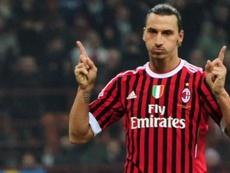 Nocerino, ex compañero de Ibrahimovic en el Milan, pidió su vuelta. AFP