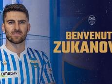 Zukanovic fue confirmado por el SPAL. SPAL