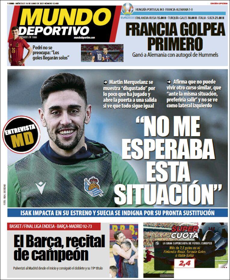 Mundo Deportivo Guipuzcoa