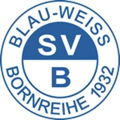 Blau Weiss Bornreihe