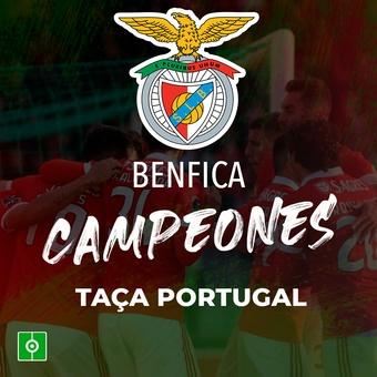 Benfica, campeones Taça Portugal, 19/11/2020