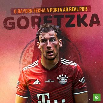 O Bayern fecha a porta ao Real por Goretzka , 14/09/2021