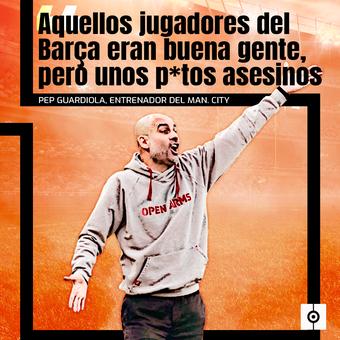 Guardiola habla sobre los jugadores del Barça, 15/04/2021
