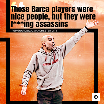 Guardiola habla sobre los jugadores del Barça-ing, 15/04/2021