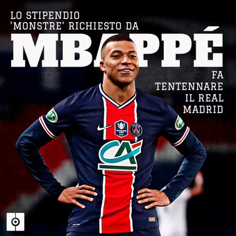salario mbappe, 19/03/2021