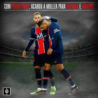 Neymar y Mbappé- Pochettino, 28/01/2021