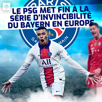 El PSG pone fin a la racha del Bayern - frc, 08/04/2021