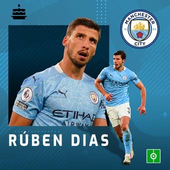 14 MAYO: Cumpleaños Rúben Dias, 14/05/2021